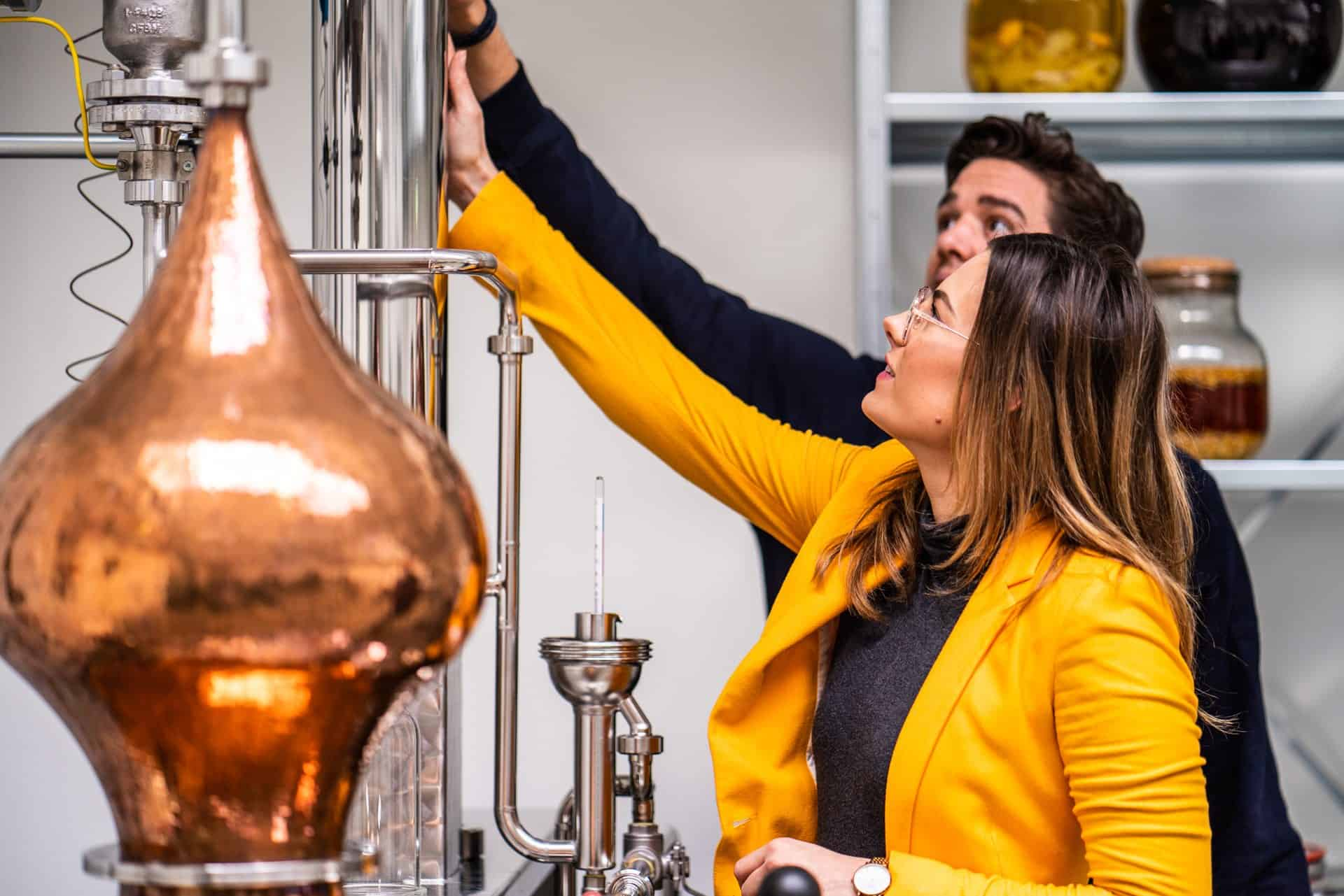 Tour and tasting in the spirited union distillery in amsterdam