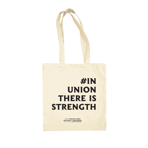 tote bag avec #in union there is strength