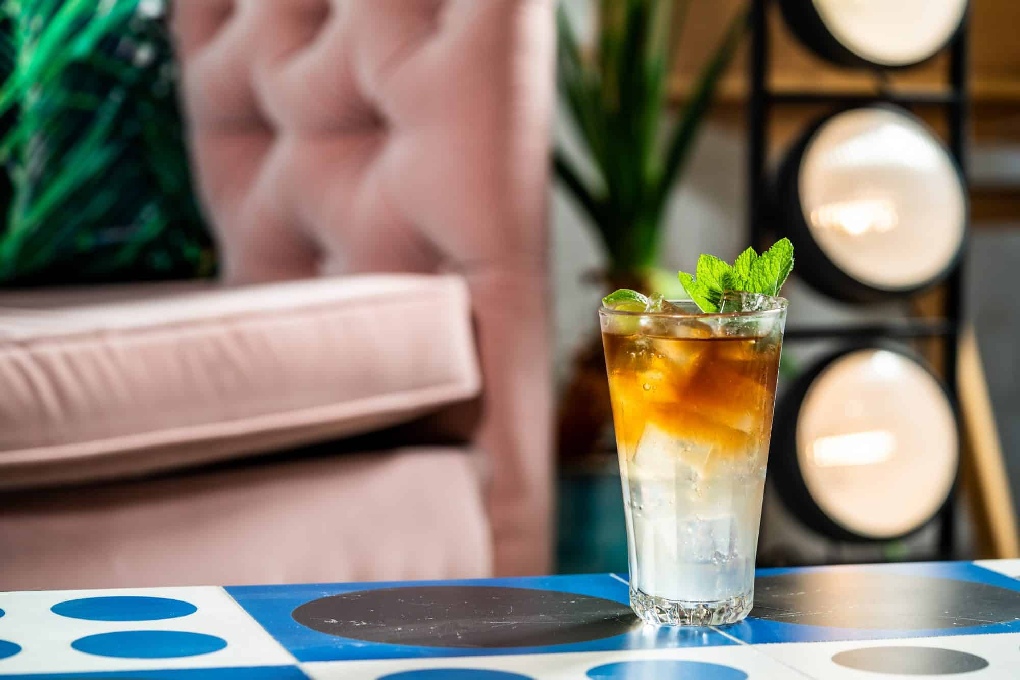 Dutch and Stormy made with Spice & Sea Salt Botanical Rum with Fever Tree Ginger Beer