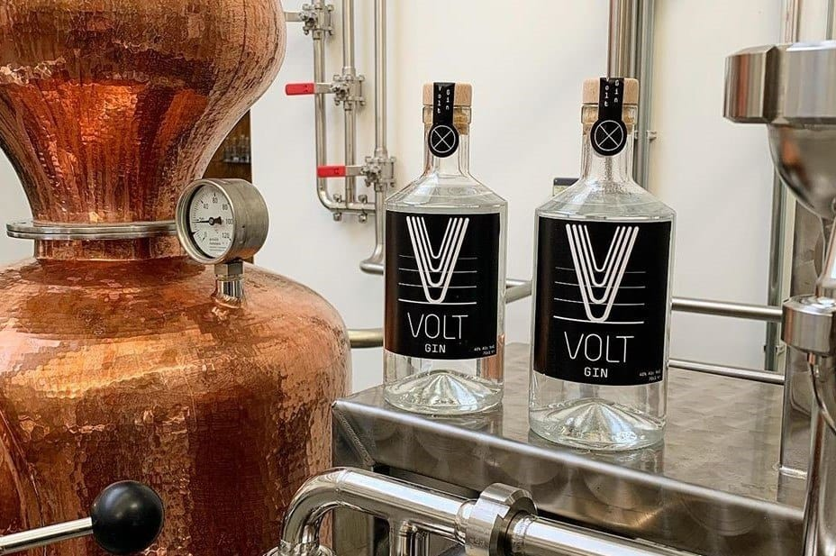 Private Label Volt Gin at the Spirited Union Distillery