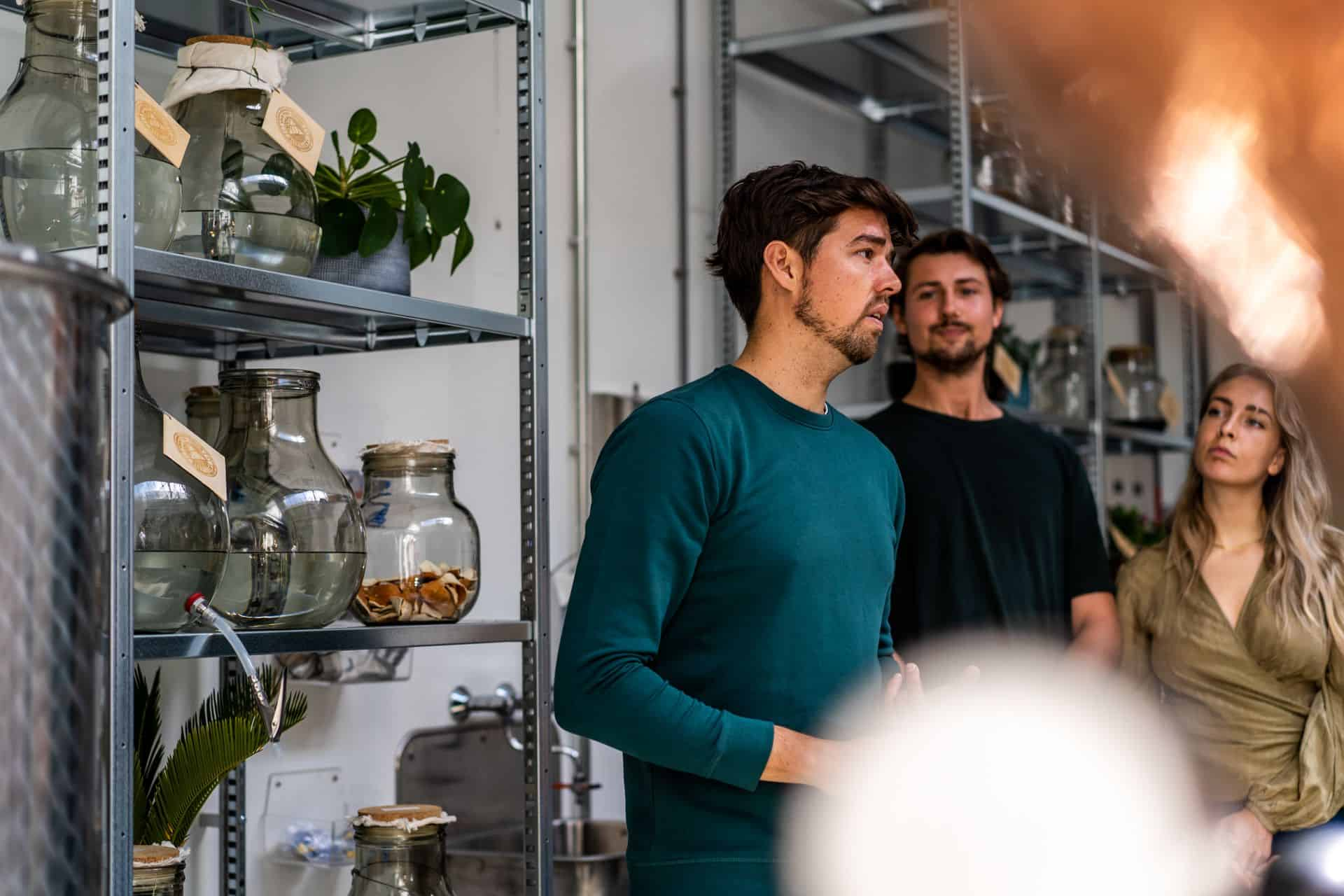 Guided distillery tour and tasting in amsterdam