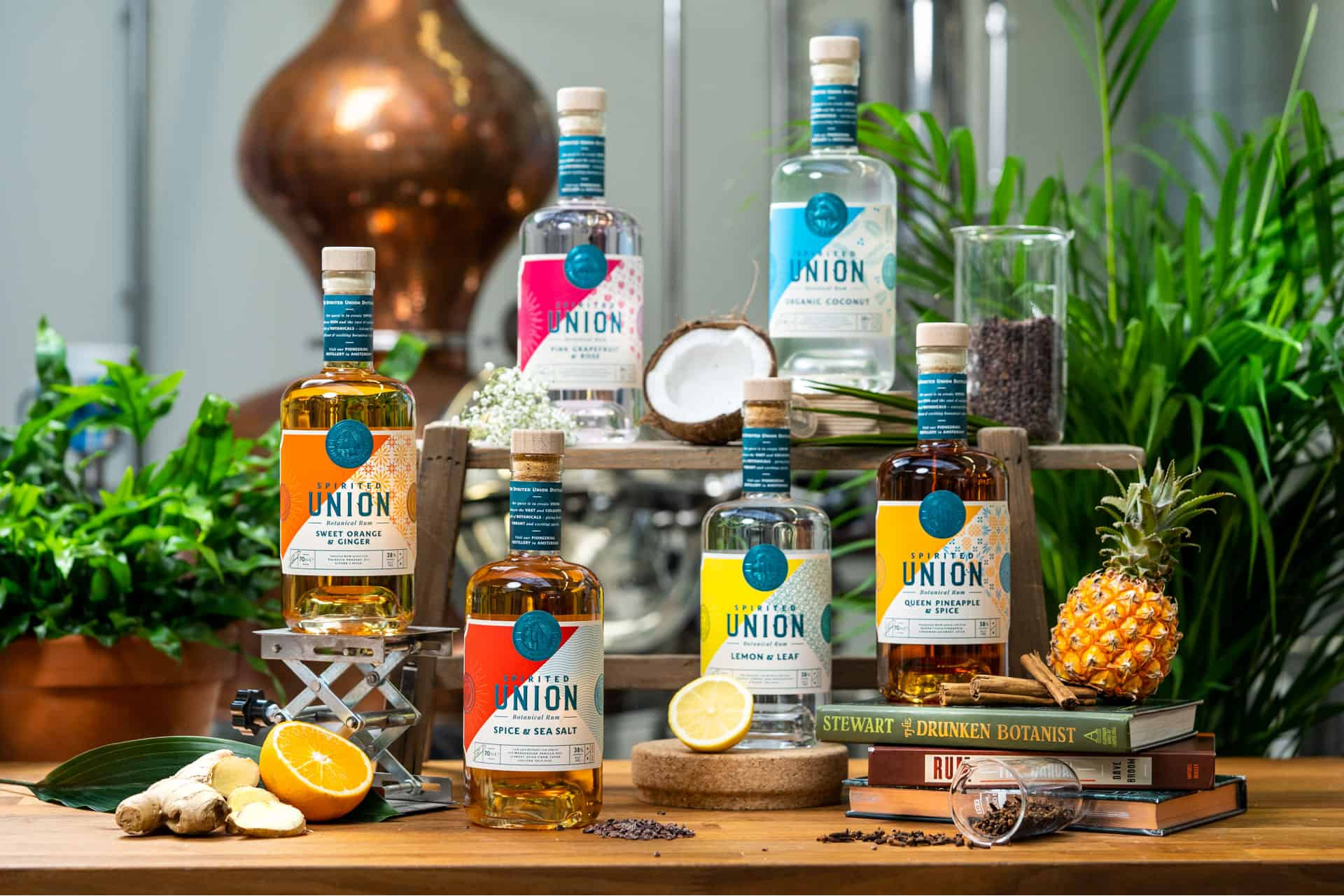 Introducing 4 new rums!… and oh boy, they taste just as good as they look…  - Spirited Union Distillery